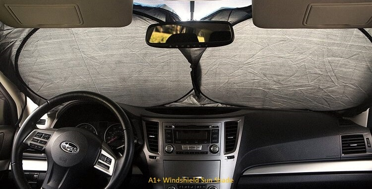 A1+ Windshield Sun Shade