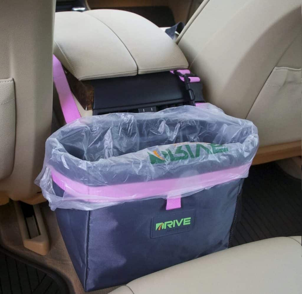 Drive Auto Products Car Trash Can