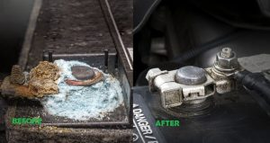 How to clean car battery terminals with vinegar