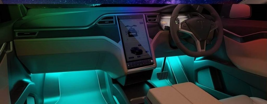 Car Interior LED Lights that flash to music