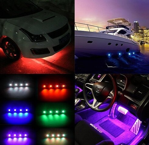 MICTITUNG LED Strip Lights that flash to music